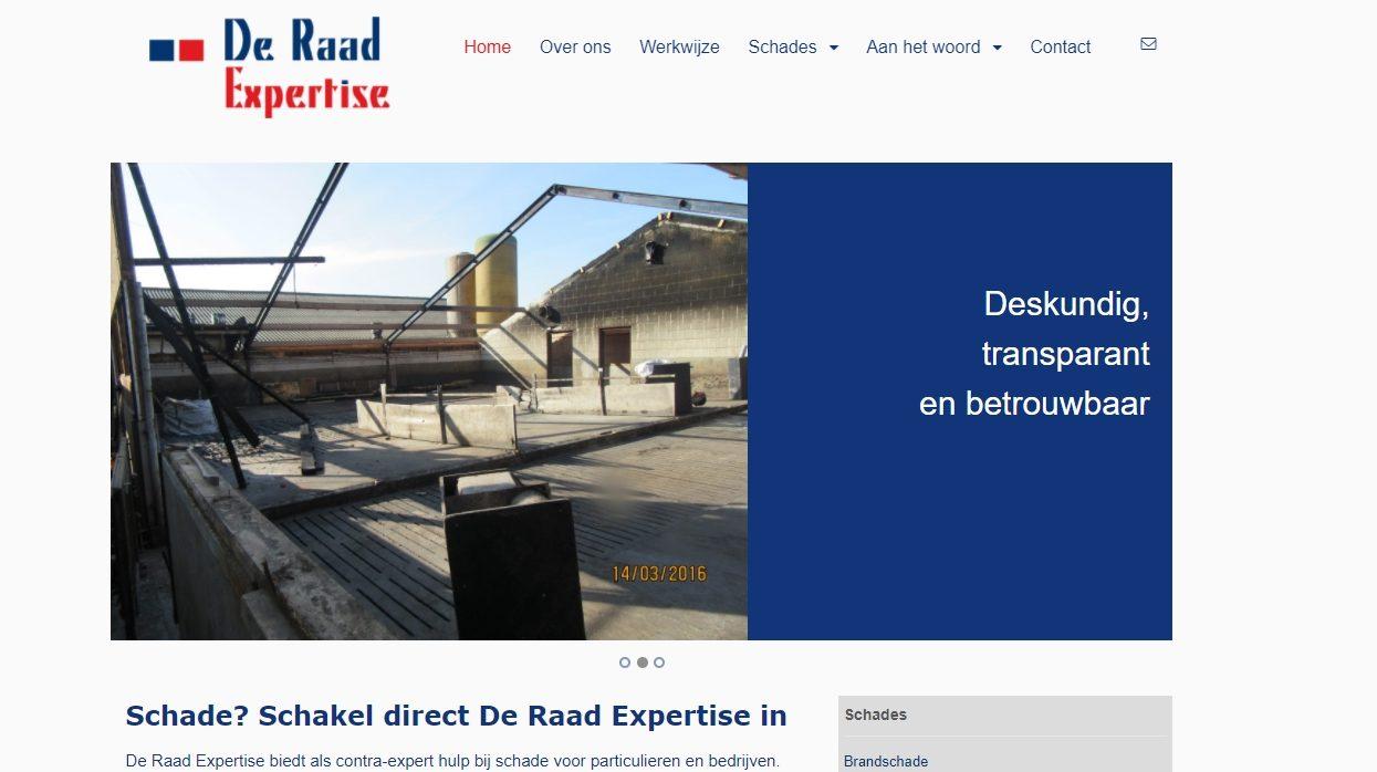 De Raad Expertise  - SEO-websiteteksten & interviews met klanten