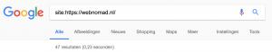 Bekijk al je HTML titels en Meta descriptions in Google